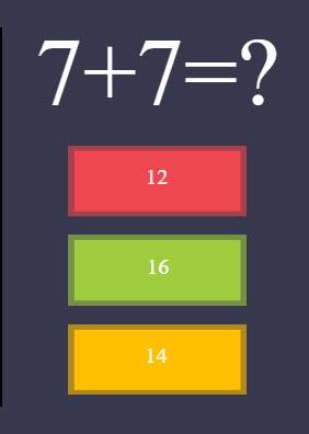 Crazy Math Game.