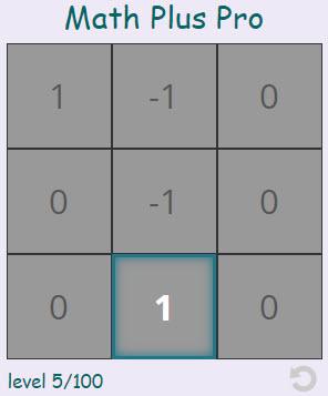 Math Plus Pro.