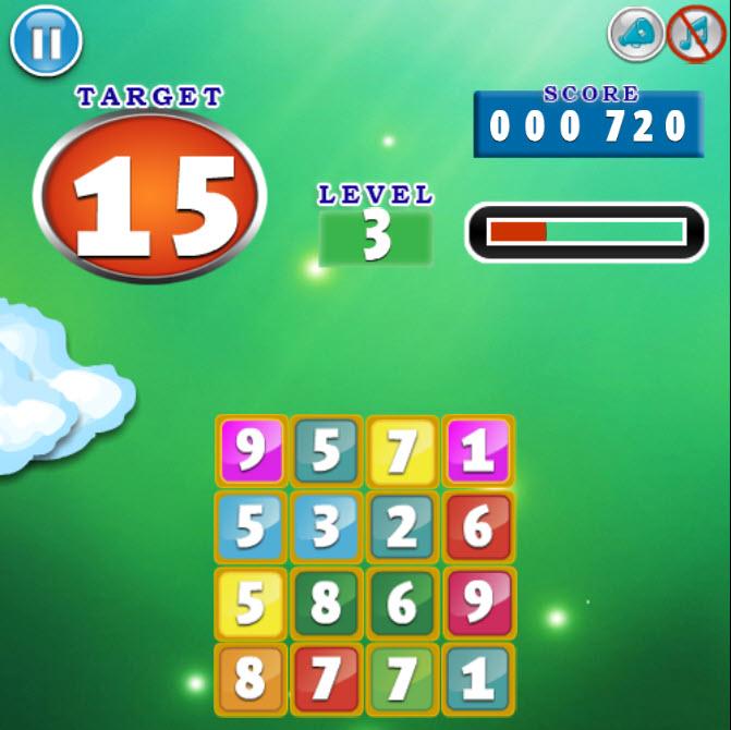 Math Plus Puzzle.
