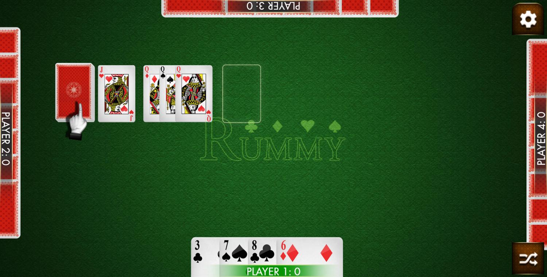 Rummy Card Game.