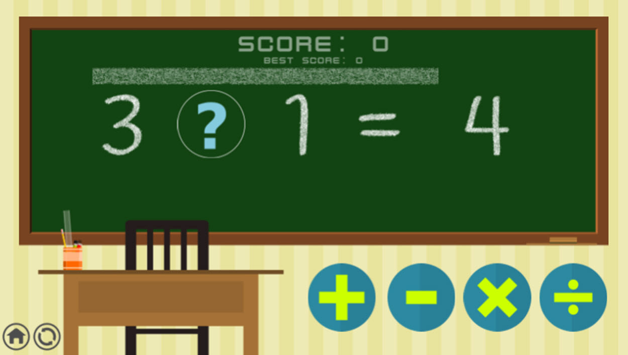 SignalGame Math Game.