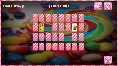 Sweety Memory Game.