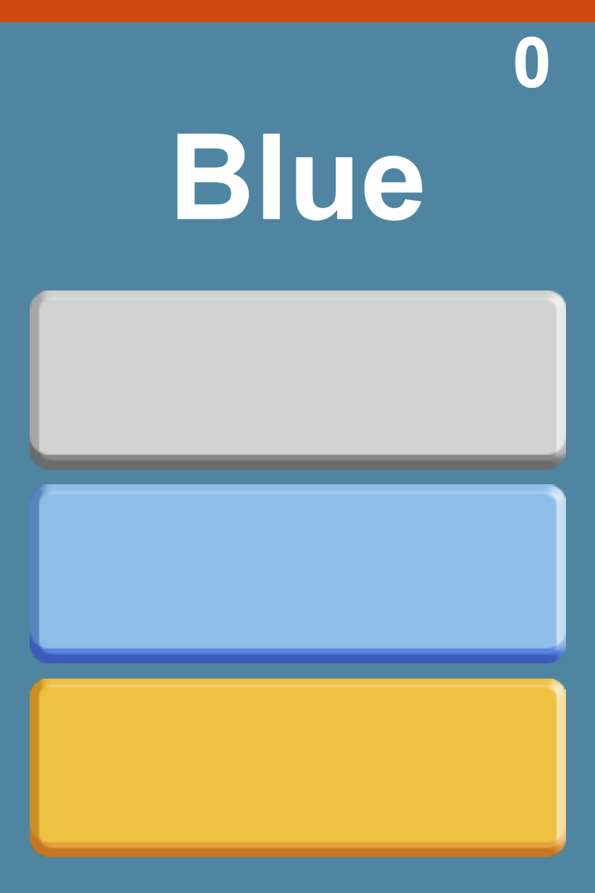 Tap the Right Color.