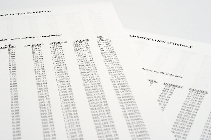 printable debt amortization schedule print your debt repayment plan