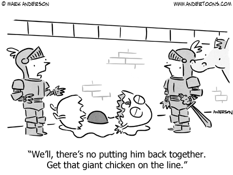 Humpty Dumpty Cartoon.