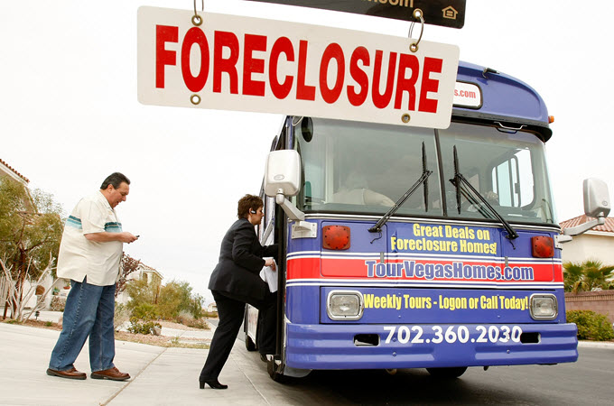 Foreclosed Homes Tour in Las Vegas.