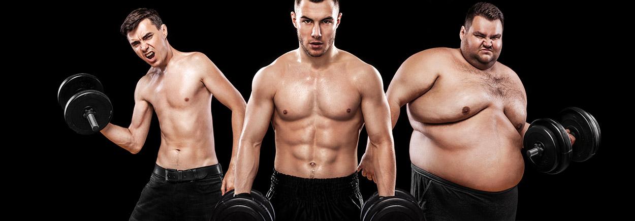 Healthy body comparison