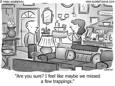 Home Decor Cartoon.