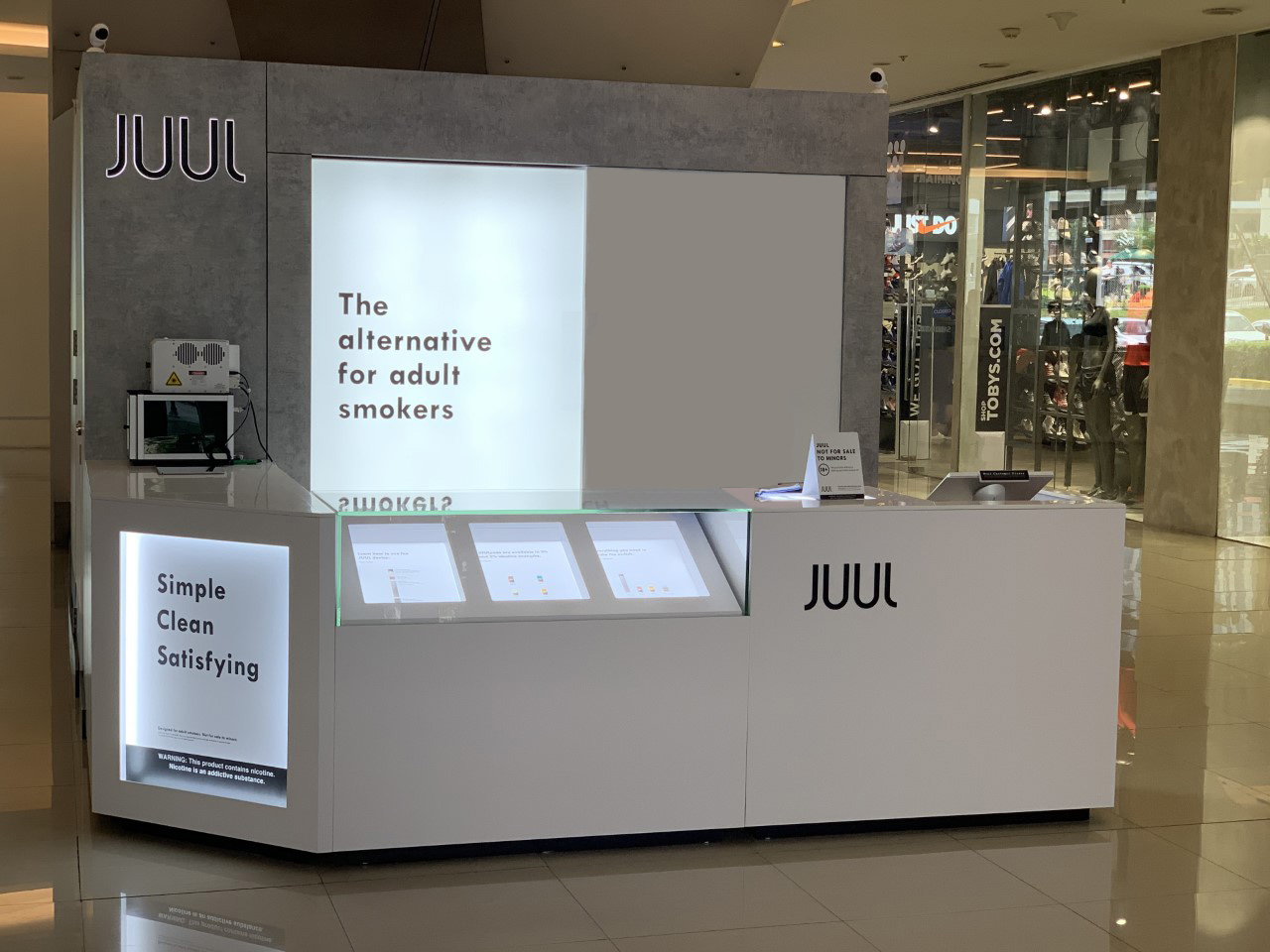 Juul Booth.