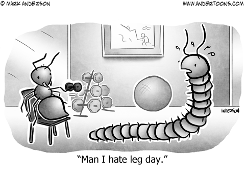 Man I Hate Legs Day.