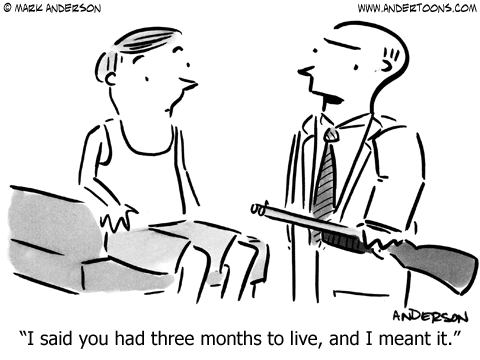Life Insurance Cartoon.