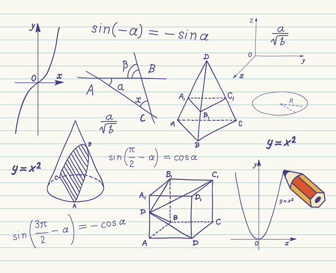 Math Sketches.
