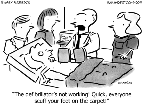 Medical Cartoon.