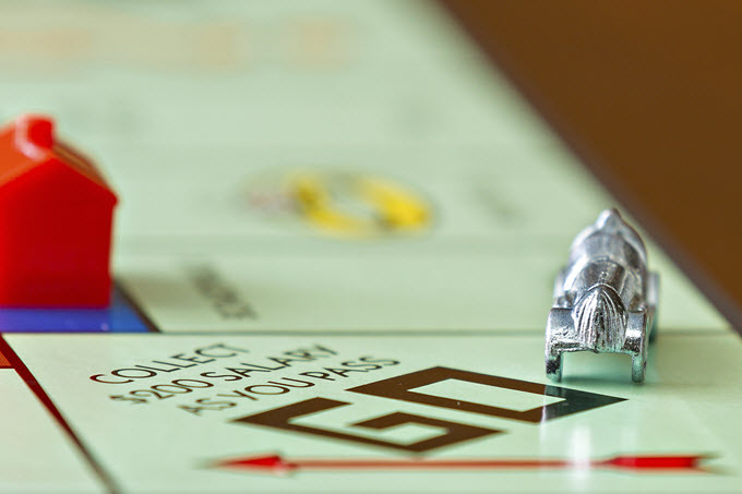 Monopoly Game Board.