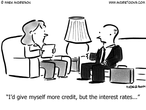 More Credit Cartoon.