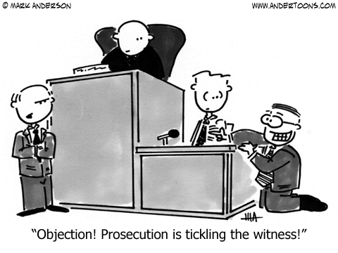 Court Cartoon.