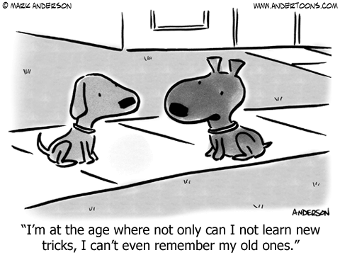 Old Dog Cartoon.