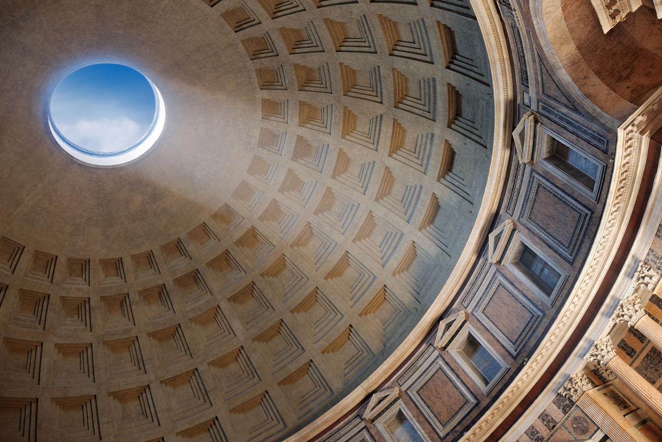 Pantheon building art