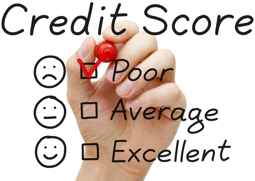 Home equity loan with poor credit score