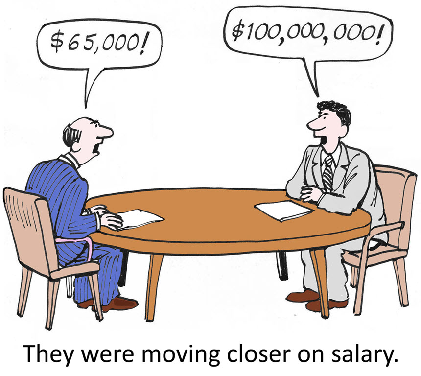 Salary Negotiations.
