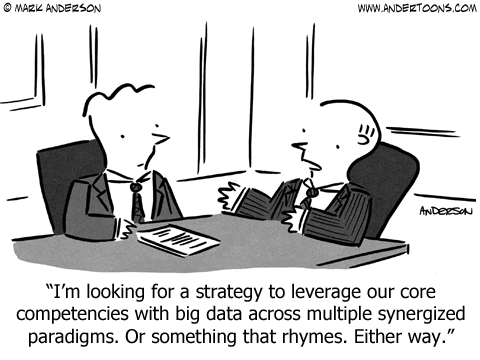 Synergy Cartoon.